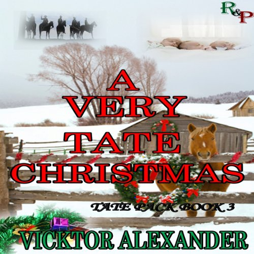 A Very Tate Christmas audiobook cover art