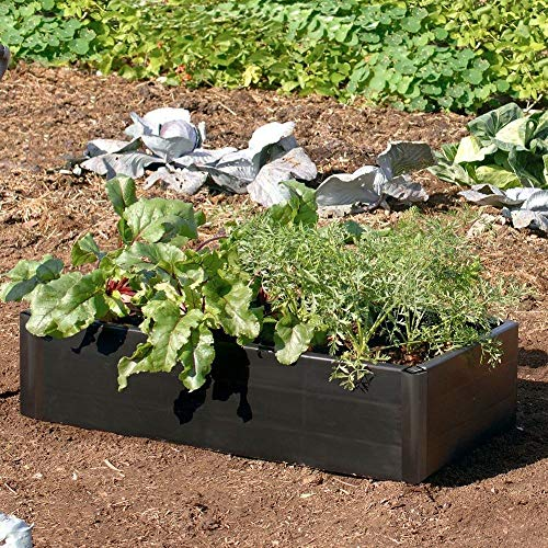 GARLAND MINI RAISED GROW BED - GREAT FOR BIGGER, EARLIER, HEALTHIER CROPS!