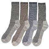 Kirkland 4 Pairs Mens or Womens Large Merino Wool Blend Walking Hiking Socks