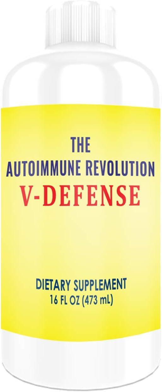 25% OFF Jacksonville Mall The Autoimmune Revolution V-Defense - Liquid Silver Silvercillin