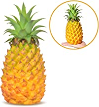 xdobo Realistic Artificial Fruits Fake Pineapple for Display High Simulation Artificial Dummy Fruits Vegetables Studio Photo Prop DIY Decoration Accessories Artificial Food Toys-Large Size