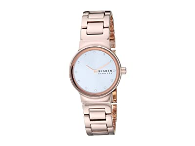 Skagen Freja Two-Hand Watch (SKW2791 Rose Gold Stainless Steel) Watches