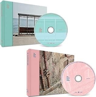 BTS WINGS KPOP NUNCA CAMINAS SOLO BANGTAN BOYS [Izquierda + DERECHA Ver. SET] Álbum 2CD + 2 Carteles + 2 Álbumes fotográficos + 2 Tarjetas fotográficas