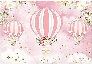 hot air balloon girl baby shower