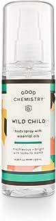 good chemistry Good Chemistry Wild Child Body Mist, 4.25 Ounce, Wild Child, 4.25 Fl Ounce