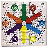 Juguetes Cayro - Tablero Parchís de madera, 4 - 6 jugadore, 40 x 40...
