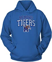 FanPrint Memphis Tigers Hoodie - Arched W Logo