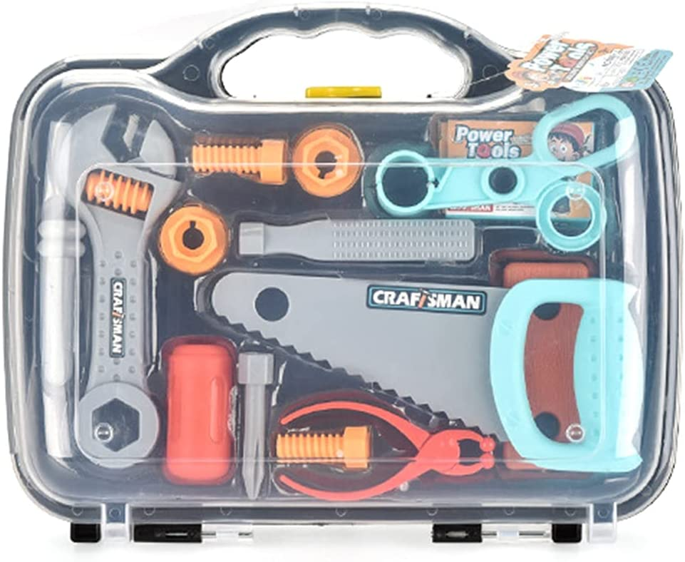 Selling and selling Lnrueg Construction Tool Cheap super special price Toy Set Pretend Construc Simulated Play