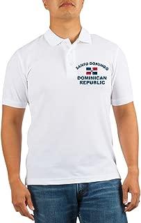 Santo Domingo Dominican Republic Designs Golf Shir - Golf Shirt, Pique Knit Golf Polo