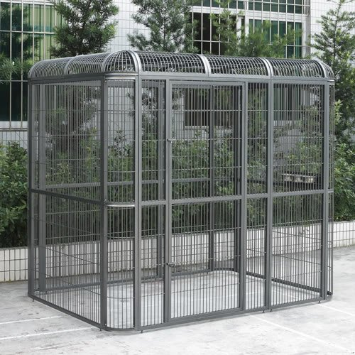 Walk-in Bird Aviary Cage Parrot Macaw Reptile Dog H79xW86xD62 Flight Cage
