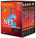 MCAD/MCSD Self-Paced Training Kit: Microsoft (2nd Edition) .NET Core Requirements, Exams 70-305, 70-315, 70-306, 70-316, 70-310, 70-320, and 70-300 box vol. set