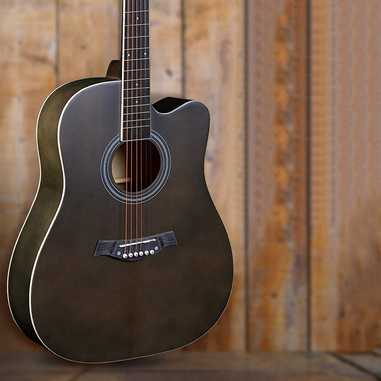 YYFANG Guitar Folk Song Spruce Max 88% Cheap OFF Stri Acoustic Veneer Low