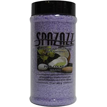 Spazazz SPZ-105 Original Crystals Container, 17-Ounce, Pina Colada Enliven