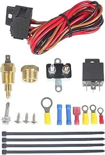 Best radiator cooling fan temperature sensor switch Reviews
