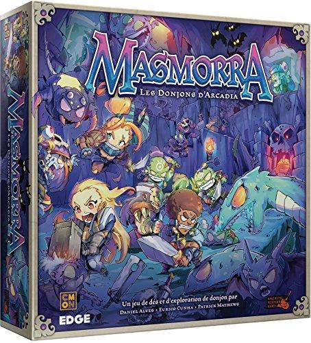 Asmodee–Masmorra: Las casitas de Arcadia, efcmma01, no precisa , color/modelo surtido