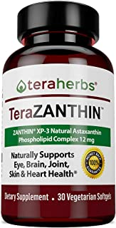 Natural Astaxanthin Complex ZANTHIN® XP-3 Phospholipid Complex 12 mg 30 Vegetarian Softgels