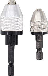 """0.3-3.6mm Keyless Drill Chuck Screwdriver Impact Driver Adaptor 1//4/"""" S WDA"""