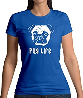 Pug Life - Womens T-Shirt - 10 Colours