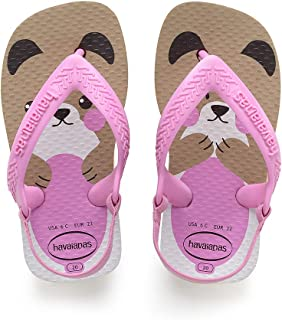 Havaianas Sandálias New Baby Pets, Rose Gold