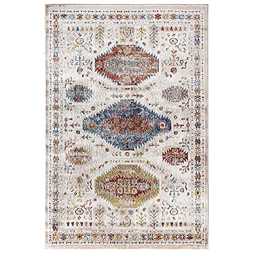 WEBTAPPETI.IT Alfombra de salón clásica multicolor para dormitorio Boho Serse Multi 180 x 270