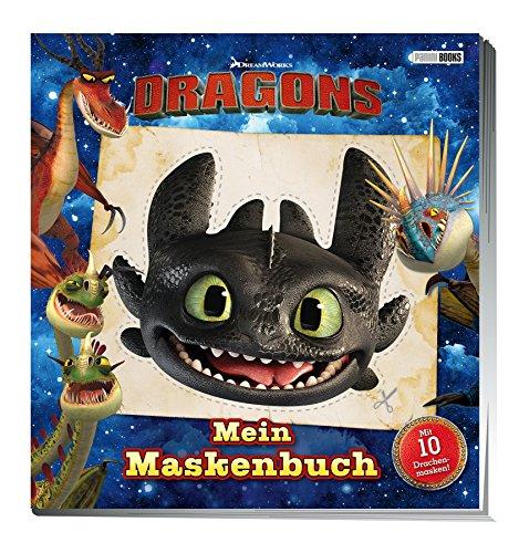 Dragons: Mein Maskenbuch: Mit 10 Drachenmasken