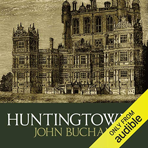 Huntingtower audiobook cover art