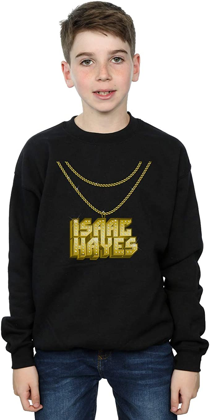 Details about  /Isaac Hayes Boys Gold Chain Hoodie