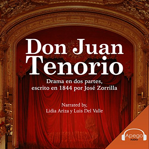 Don Juan Tenorio [Spanish Edition] audiobook cover art