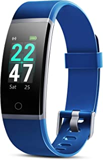 Letsfit Fitness Tracker, Activity Tracker with Heart Rate Monitor, IP68 Waterproof Smart Watch with Pedometer, Calorie Counter for Women Men Kids