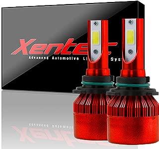 XENTEC C6 9012 High Power LED headlight bulb conversion kit (1 pair bulb, ultrawhite)