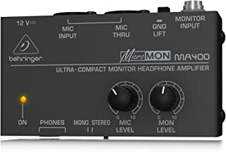 Behringer MA400 Behringer Micromon MA400 Ultra-Compact Monitor Headphone Amplifier