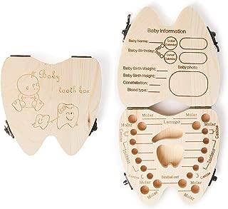 Milchzahndose Z/ähne Box f/ür Baby Save Box Organizer f/ür Baby Girls Boys Kinderz/ähne Box Milchz/ähne Box INTVN 2 St/ück Baby Milchzahndose Box Organizer