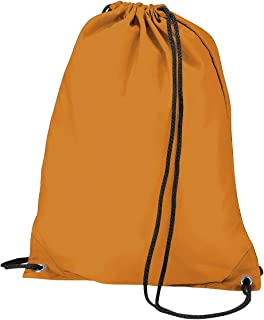 BagBase Budget Water Resistant Sports Gymsac Drawstring Bag (11L) (Pack of 2)