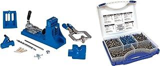 Kreg Jig K4 Master System and Pocket-Hole Screw Kit in 5 Sizes