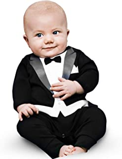 The Tiny Universe Baby Tuxedo Suit Onesie - Original Swedish Design