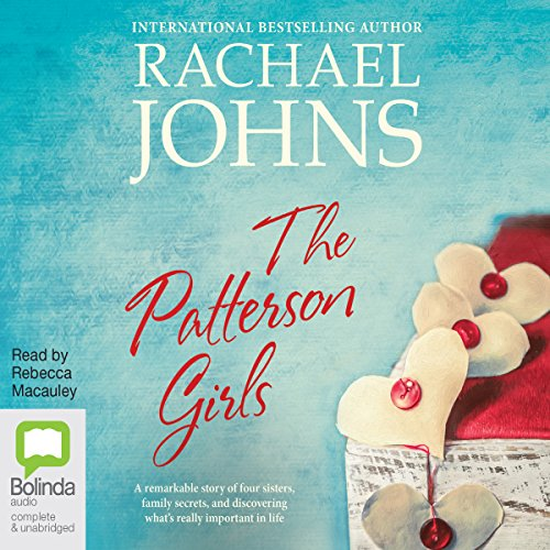 The Patterson Girls                   By:                                                                                                                                 Rachael Johns                               Narrated by:                                                                                                                                 Rebecca Macauley                      Length: 15 hrs and 37 mins     1 rating     Overall 4.0