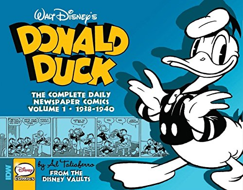 Image of Walt Disney's Donald Duck: The Daily Newspaper Comics Volume 1 (DONALD DUCK Daily Newspaper)