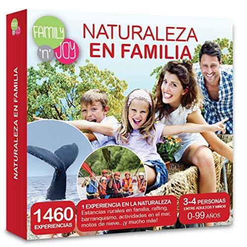 NJOY Experiences - Caja Regalo - Naturaleza EN Familia - Más de 1000 experiencias Familiares a Escoger