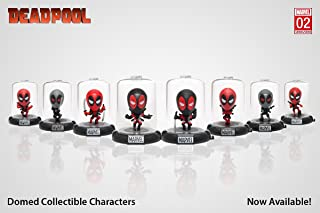 Original Minis Domez Marvel's Deadpool Series 2 Complete Collection Set of 8
