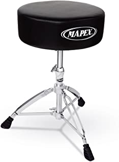 Mapex Double Brace Thick Cushion - Heavy Duty Drum Throne
