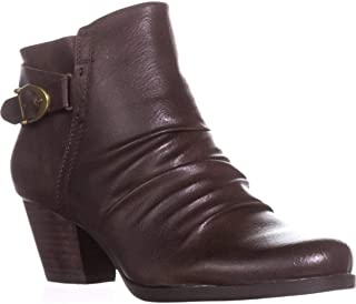 Womens Reliance Faux Leather Ankle Booties