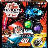 BAKUGAN Battle Brawlers Starter-Set mit Bakugan Transforming Creatures, Aquos Garganoid, für Kinder ab