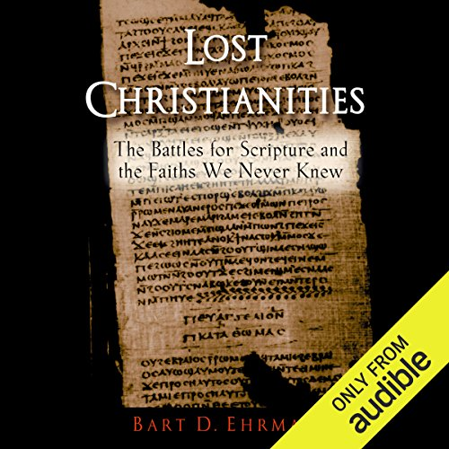 Lost Christianities audiobook cover art