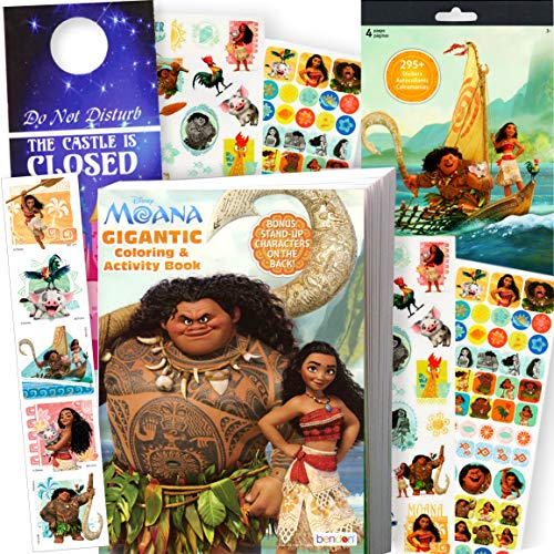 Moana Coloring and Activity Book