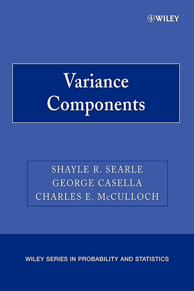 誇張爆弾ほぼVariance Components (Wiley Series in Probability and Statistics)
