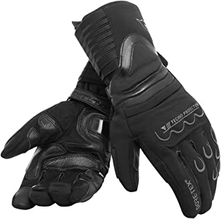 Dainese Scout 2 Unisex Gore-Tex Motorcycle Gloves, Black, Size M