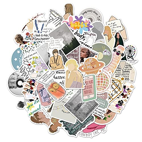 FENGLING Pegatinas de Dibujos Animados, calcomanías para portátil, Maleta, Nevera, teléfono, Guitarra, monopatín, Juguete, 50 Piezas