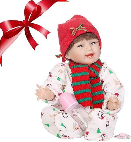 descuento de bajo precio ZAY ZAY ZAY muñeca de Navidad Realista, muñeca de Reborn de Silicona Suave, Parte del Cuerpo, muñeca de Navidad Realista  tienda de ventas outlet