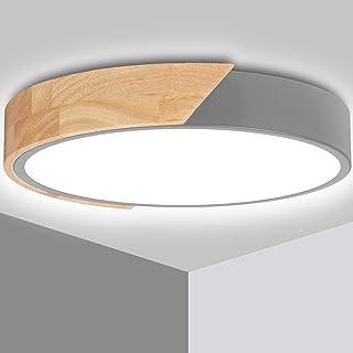 LED Plafonnier 24W Ketom Lampes de Plafond Blanc Froid 6000K 2400LM Moderne Rond Intérieur Lampe Plafond, Pour Salon, Cham...