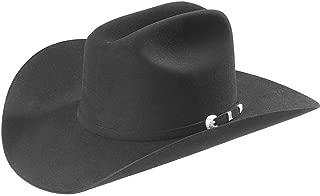 Stetson Men's 10X Shasta Fur Felt Western Hat Black 7
